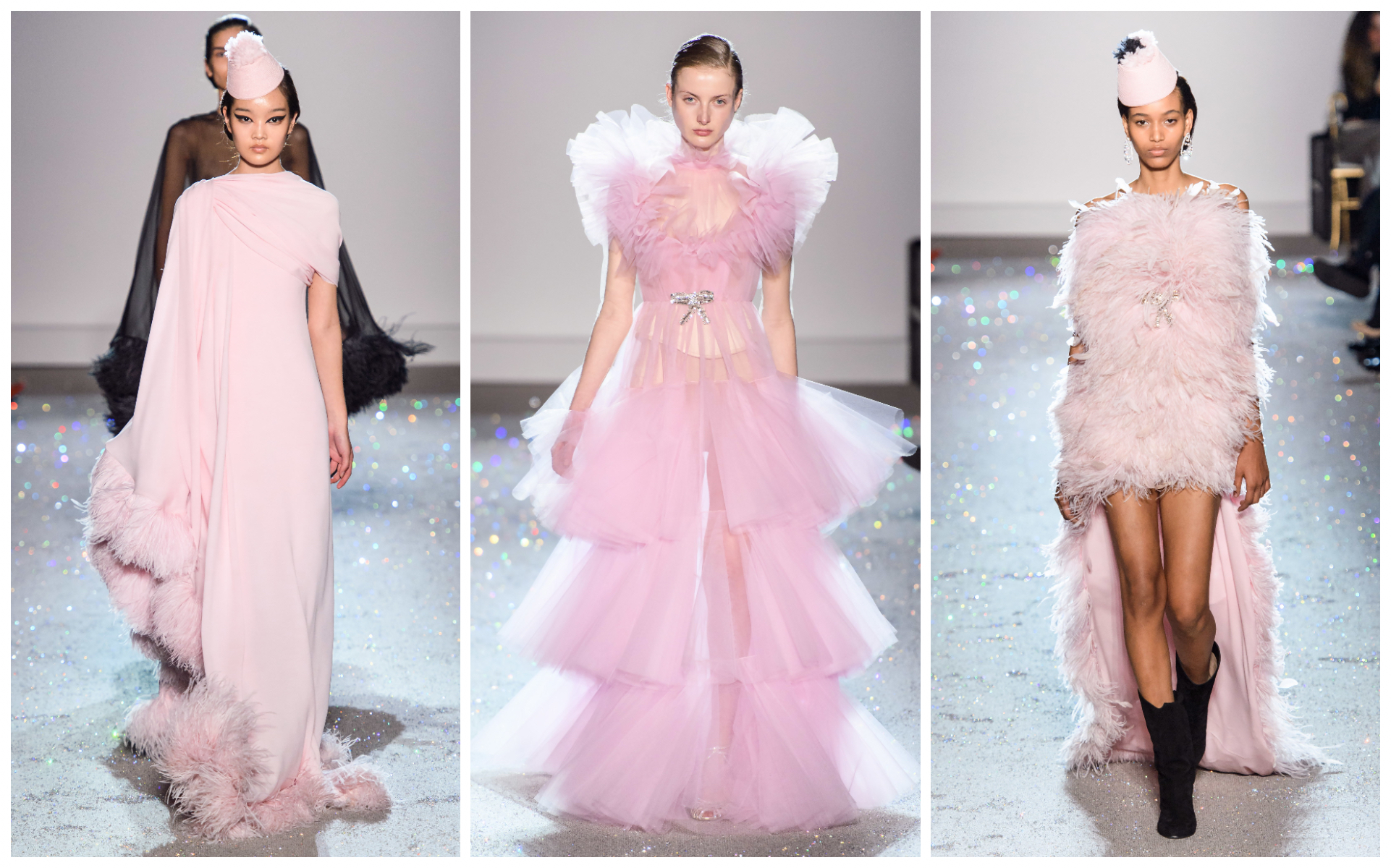 AWE-INSPIRING COUTURE BY VALENTINO, GIVENCHY AND GIAMBATTISTA VALLI