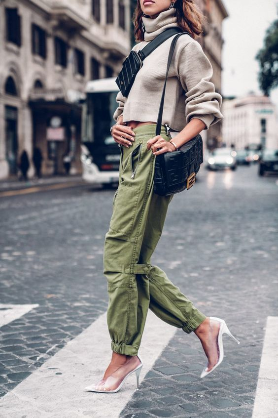 TREND RADAR: CARGO TROUSERS FROM THE CATWALK