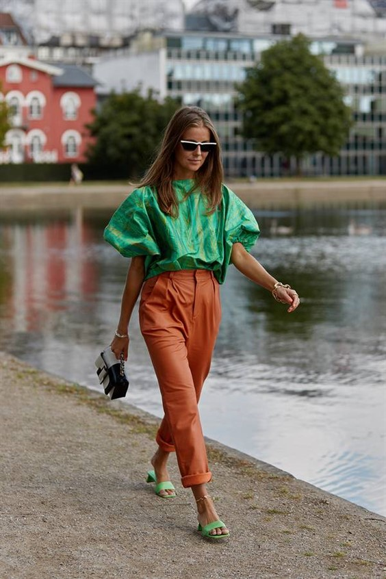 SORRY, SUMMER: SOME AUTUMN COLOURS WE CAN WEAR BEFORE THE AUTUMN COMES