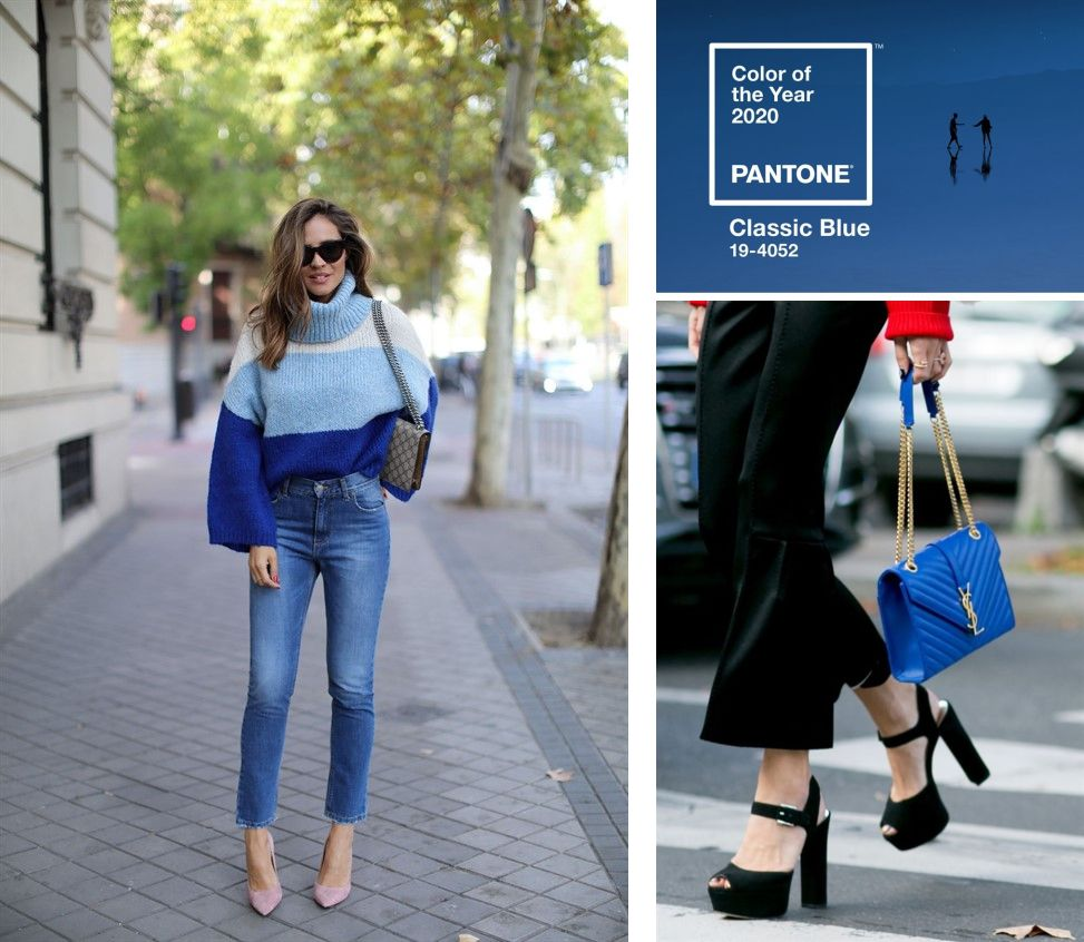 PANTONE 2020 OR THE MAGIC OF CLASSIC BLUE